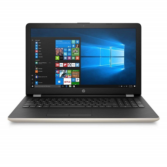 Laptop Hp 15-BS667TX Core I7-7500U / 3MS02PA (Gold)