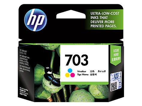 Mực in HP 703 Tri color Ink Cartridge (CD888AA)