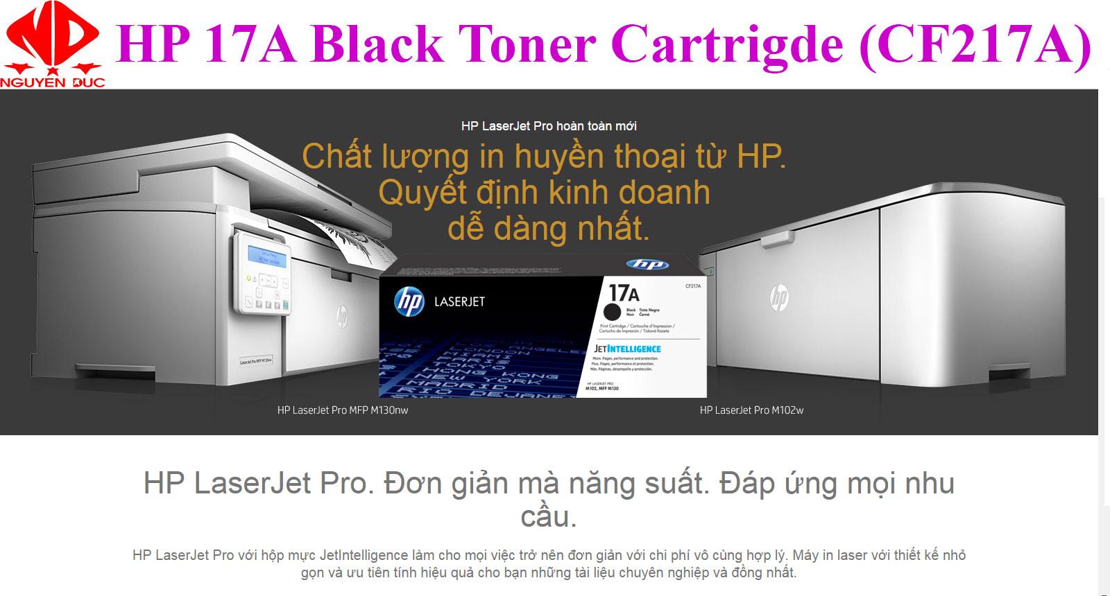 Bao Gia Muc In Cf217a Dung Cho May Hp Laserjet Pro Mfp M130a Bo Printer Gi Mc Dng My