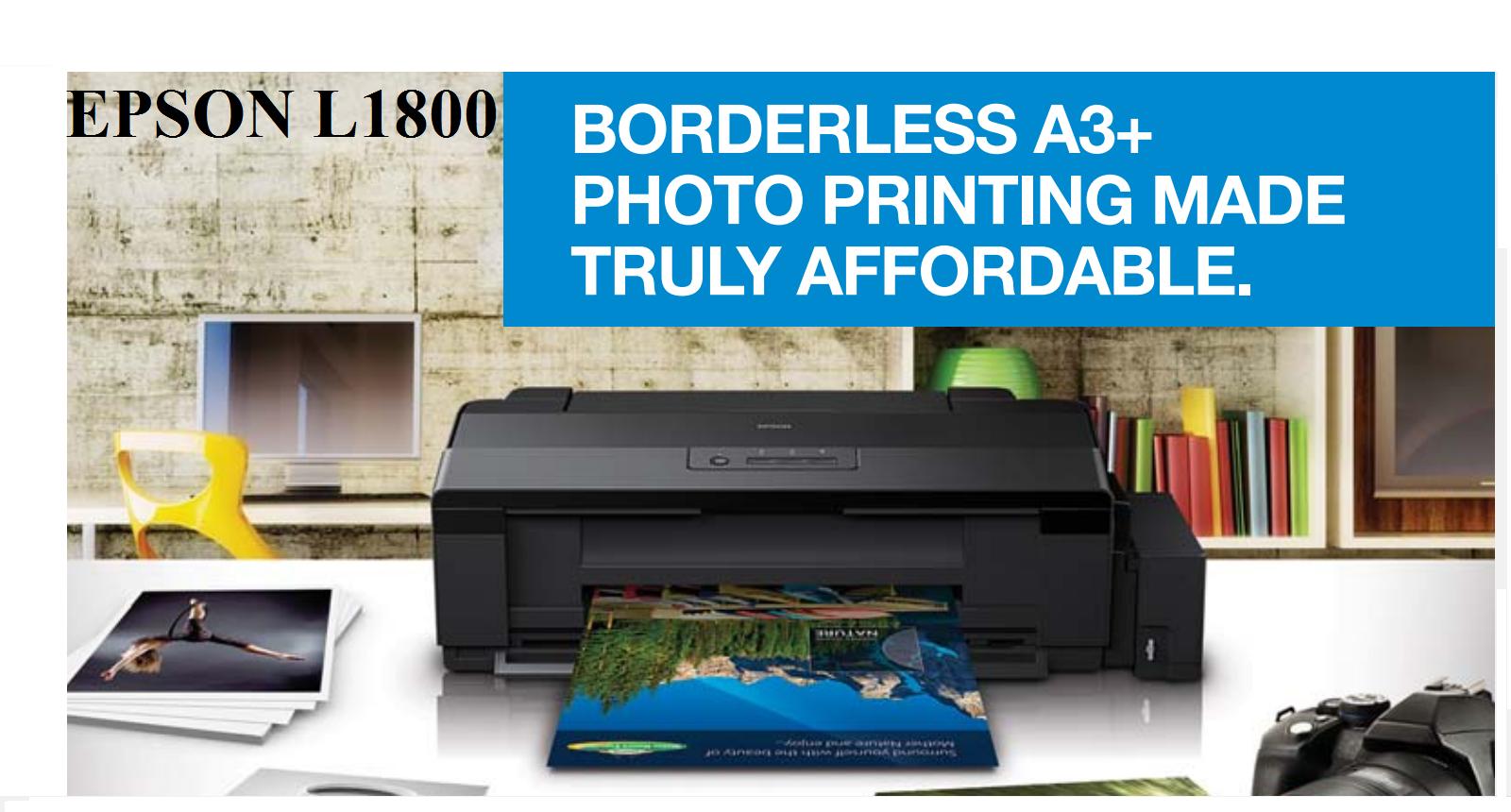 Muc In Epson L1800 Mc Cung Cp Phn Phi Printer