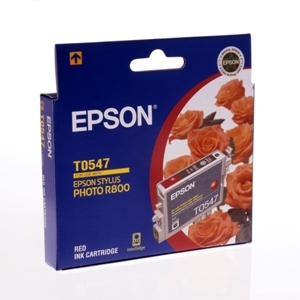 Mực in Epson T0547 - UltraChrome Hi-Gloss - Red Ink Cartridge