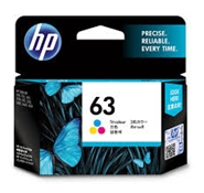 Mực in phun HP 63 Tri-color Original Ink Cartridge (F6U61AA)
