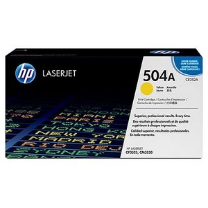 Mực in HP 504A Yellow LaserJet Toner Cartridge (CE252AC)